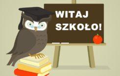 Więcej o: Rozpoczęcie roku szkolnego